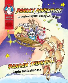 Panda's adventure in the Crystal Valley of Lapland = Pandan seikkailu Lapin Jäälaaksossa